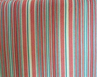 Airmail stripe Cotton Fabric