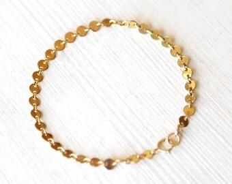 Twinkle - A Shimmering Gold Filled Bracelet