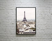 Unique Paris Photography, Paris EIFFEL TOWER Photo, Paris Architecture, Paris Landscape, Original Eiffel Tower Photo, Paris City scape Photo