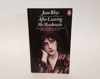 Vintage Pop Culture Book After Leaving Mr. Mackenzie by Jean Rhys 1982 UK Edition Paperback