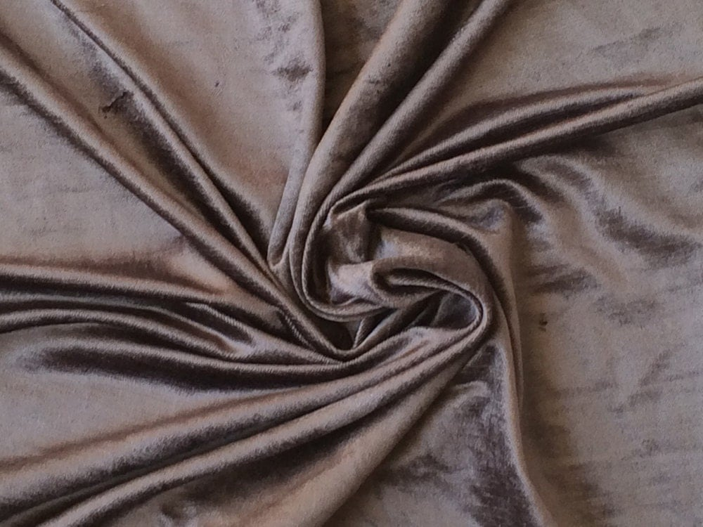 charcoal plum cotton viscose velvet fabric by the yard. Black Bedroom Furniture Sets. Home Design Ideas