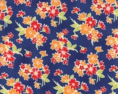One Yard - Miss Kate by Bonnie and Camille for Moda - Spring in Navy