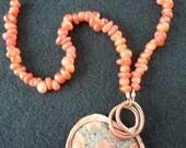 POLYMER-COPPER-CARNELIAN-necklace