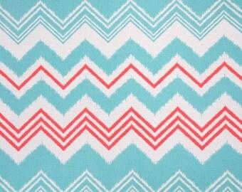 Fabric Remnant - Premier Prints Zazzle Calypso Indoor Outdoor Fabric   - over 2 yards
