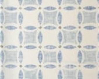 Sarah Richardson for Kravet Yorkville in Chambray Linen Designer Pillow Cover - Square, Lumbar, Euro and Body Pillow Cover