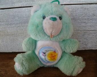 """1980's Care Bear """"""""Bedtime"""" Miniature Plush"""