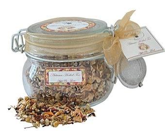 Autumn Herbal Tea - Apple Pie Glass with Infuser