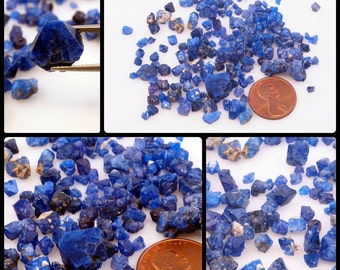 1g+  Wholesale Lots of Cobalt Blue Spinel from Vietnam