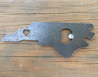 Love Asheville, NC Bottle Opener