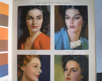 Vintage 1940's Art Book - Creative Illustration By Andrew Loomis