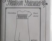 Pattern - Katrina #200 Girl's shift dress with a smocked insert, Size 7, 8, 10 - by Maja's Heirloom Treasures