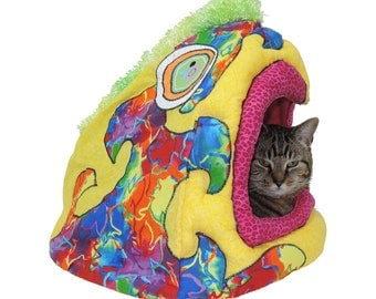 Pet Bed fits dogs or cats up to 20lbs  - cat condo dog bed pet beds photo prop READY TO SHIP