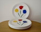 Marimekko for Pfaltzgraff 3 Flowers Dinners Plates by Fujiwo Ishimoto