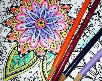 KPM Doodles Coloring page Secret Garden 2