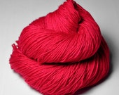 Toxic strawberry bubble gum - BFL Sock Yarn Superwash