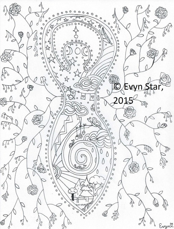 pagan yule coloring pages - photo #50