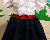 Mary Poppins Nanny Dress  INsprired