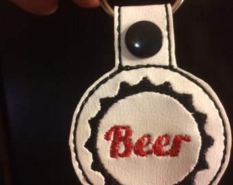 Beer key chain