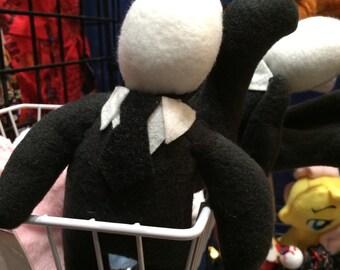 Amigurumi Slender Man : Items similar to Slender-chan, Mini Slender Man Amigurumi ...