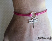 Dragonfly - Circle of Life Bracelet or Anklet, made in USA