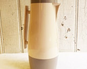 Vintage Aladdin Beverage Butler Insulated Hot or Cold Pitcher - Sleek Tall Styling - Mid-Century 1960s