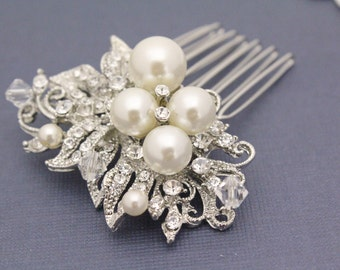 Wedding hair comb bridal hair accessory wedding headpiece bridal hair comb wedding hair jewelry bridal hair jewelry wedding comb pearl