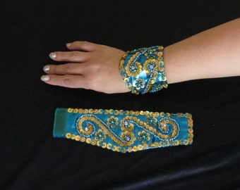 Belly Dance Wrist Cuffs