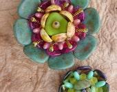 Succulent Flower KIT Turquoise