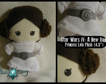 "Star Wars: Princess Leia 4.5"" Doll"