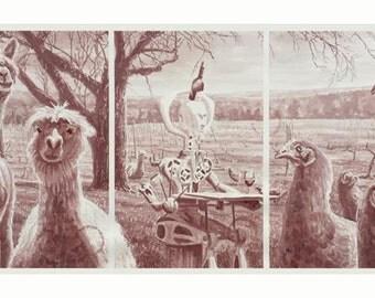 "Wine Painting - ""Test Run"""