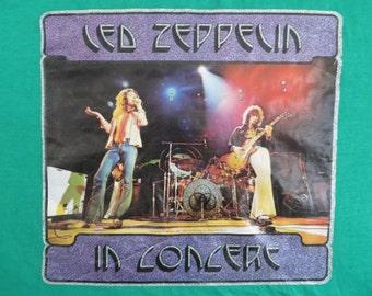 LED ZEPPELIN 1975 T SHIRT mint
