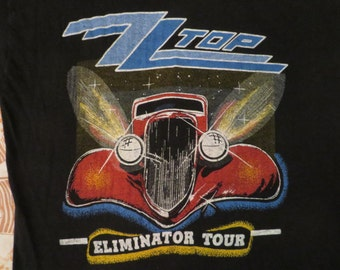 ZZ TOP 1983 tour T SHIRT