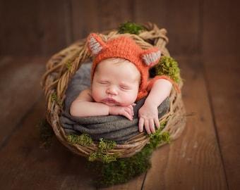 The Original Fox Bonnet (Newborn)