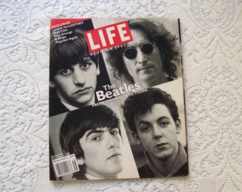 Vintage Beatles Life Magazine Reunion Special From Yesterday to Today 1995 John Paul George Ringo Beatle Memorabilia