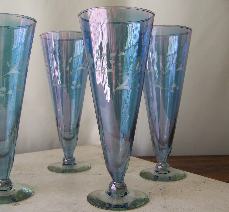 Vintage Water Goblets 10