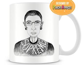 Ruth Bader Ginsburg - Supreme Mug - Notorious RBG