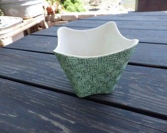 "Shawnee Pottery ""Elegance"" Planter Flower Pot 1950s Atomic"