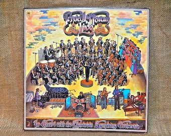 PROCOL HARUM -  Procol Harum Live with the Edmonton Synophinic Orchestra- 1972 Vintage Vinyl  Record Album
