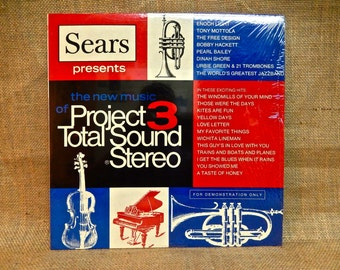 RARE...SEARS Presents The New Music Project 3 - For Demonstration Only - 1969 Vintage Vinyl  Record Album