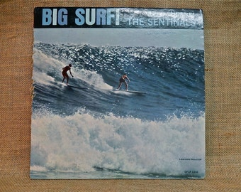 The SENTINELS - BIG SURF - 1963 Vintage Vinyl record Album