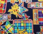 Pocket Monsters printed fabric half yard