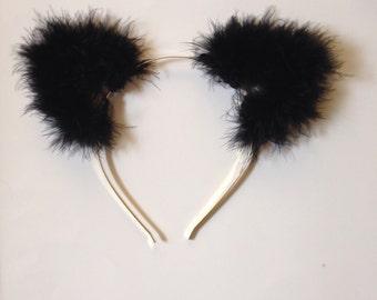 Fuzzy Cat Ears