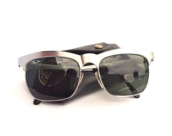 Ray Ban Sunglasses Silver Browline