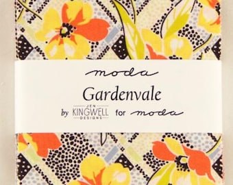 SALE Gardenvale Charm Pack 18100PP by Jen Kingwell for Moda
