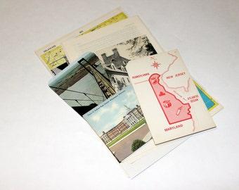 Delaware - United States Vintage Travel Collage Kit