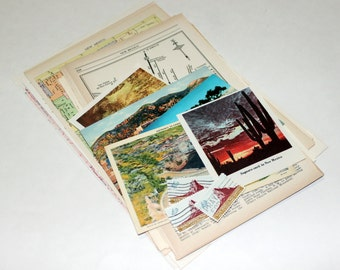 New Mexico - United States Vintage Travel Collage Kit