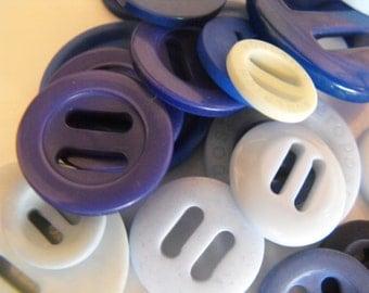 25 Blue Ribbon Slides Multi Size Grab Bag