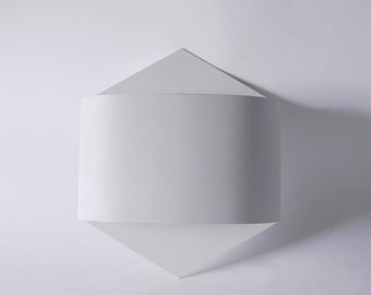 Modernist German White Wall Light Lamp - Staff Leuchte 80s