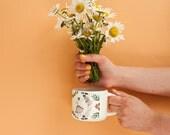 Ceramic cup - Dance