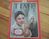Collectible Time Magazine December 21, 1959 Latin America Edition Actress Anne Bancroft Cover Good - Very Good Condition Great Ads